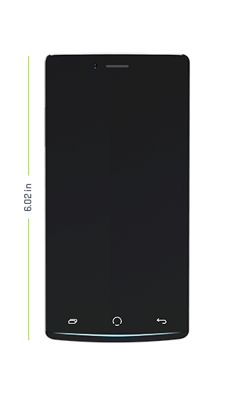 Z8 phone dimensions