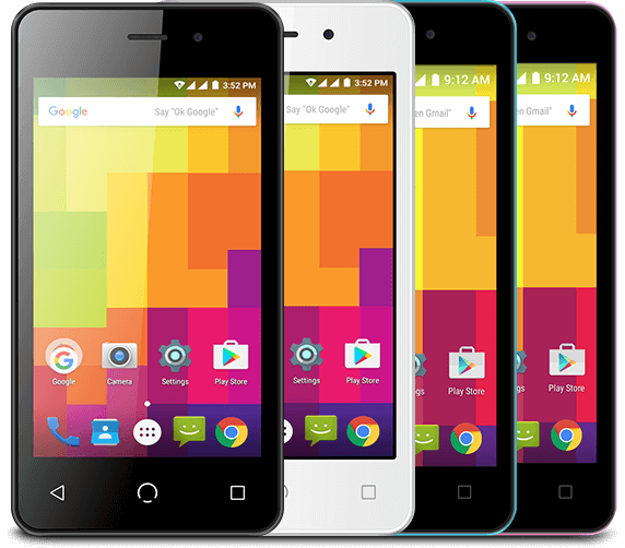 A1 smartphone colors