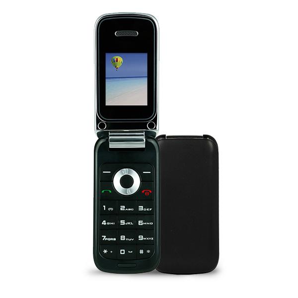 black f1 flip phone