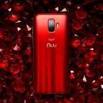 G3 Android Smartphone Ruby Red Back