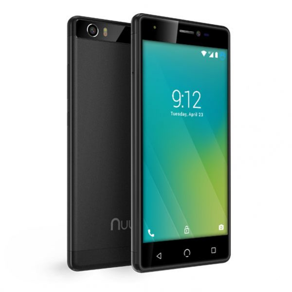 M2 smartphone black front back 3 quarter