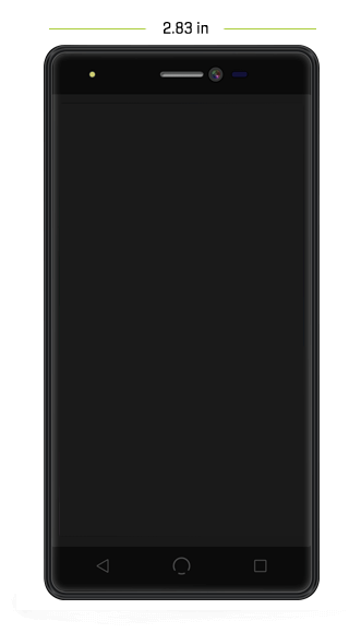 m2 phone dimensions front