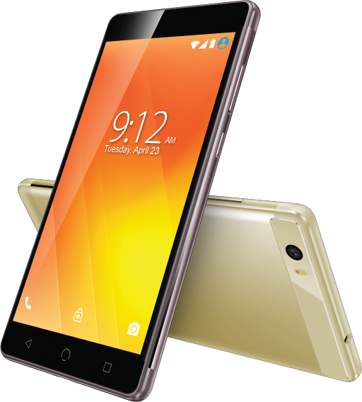 M3 Smartphone Gold Black