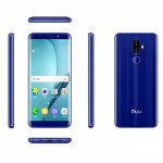 Nuu G3 Phone All Sides Blue