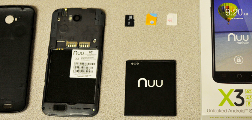 Installing The Sim Cards SD And Battery