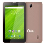 T2 Android Tablet Front Back Rose Gold
