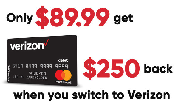 Verizon cash back deal